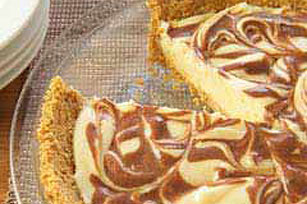 Chocolate Swirl Cheesecake Image 1