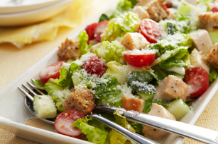 Chopped Chicken Caesar Salad for Two Image 1