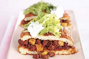 Chorizo and Potato Pambazos Image 1
