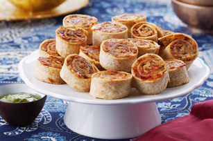 Chutney-Chicken Pinwheels