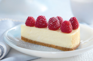Citrus & Raspberry Cheesecake