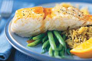 Citrus Glazed Fish Image 1