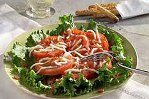 Classic Bacon, Lettuce & Sliced Tomato Salad Image 1