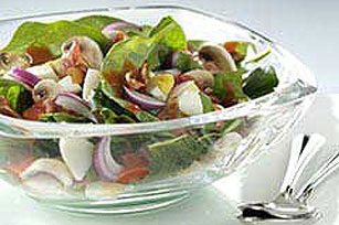 Classic Bacon Spinach Salad