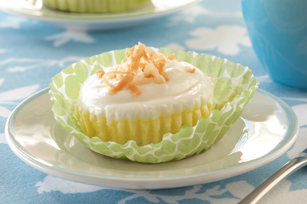 Coconut Cream Mini Cheesecakes