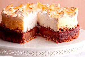 Coconut Meringue Cheesecake Image 1