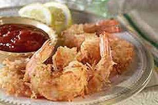 Coconut Fried Shrimp Image 1