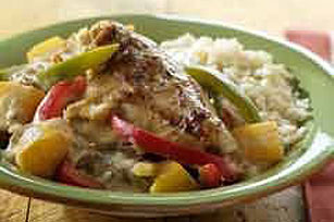 Mango-Coconut Chicken Recipe Image 1