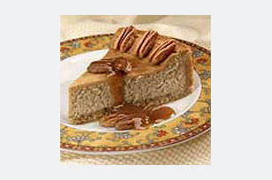 Coffee Praline Cheesecake
