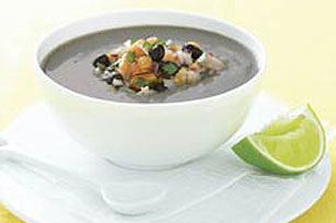 Cold Brazilian Black Bean Soup Image 1