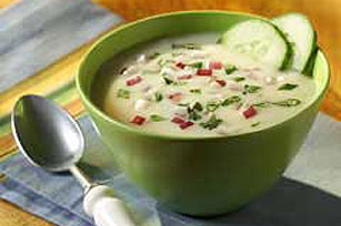 Cold Cucumber Soup Image 1