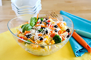 Colorful Summertime Pasta Salad Image 1