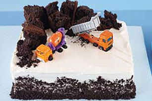 Construction Birthday Cake Image 1