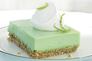 Cool Lime-Pretzel Squares