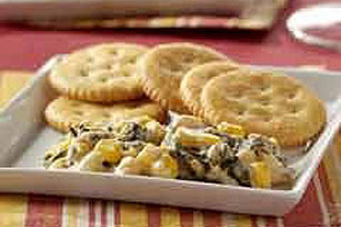 Corn-Chipotle Spinach Dip