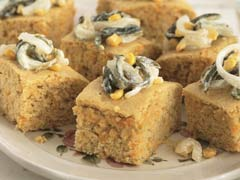 Corn Bread with Poblanos & Sour Cream