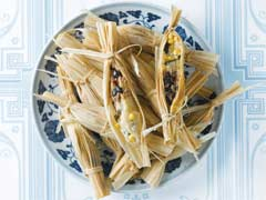 Corn and Black Bean Tamales Image 1