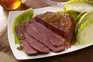 Corned Beef Brisket with Cabbage