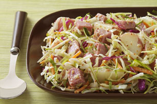 Corned Beef, Potato and Cabbage Salad
