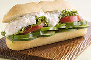 Cottage Cheese Sub Sandwich