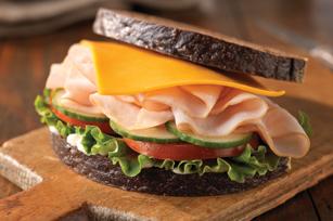 Country-Style Turkey 'N Cheddar Sandwich Image 1