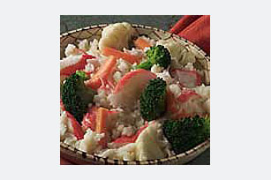 Crab and Rice Primavera Image 1