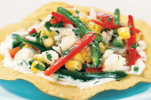 Crab Salad Tostada