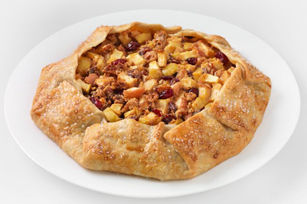 Reduced Sugar Cranberry-Apple Pilgrim Pie Image 1
