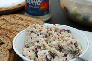 Cranberry & Bacon Chicken Salad