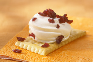 Cranberry Cracker Bites