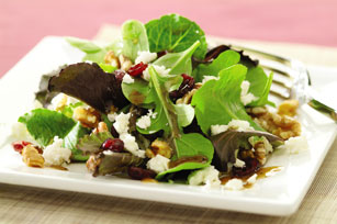 Cranberry and Feta Salad with Dijon Vinaigrette Image 1