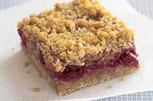 Pastelitos cuadrados de arándanos agrios (cranberries) Image 1