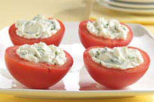 Cream Cheese-Stuffed Tomatoes Image 1