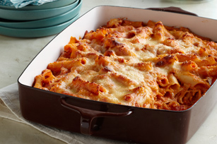 Smart-Choice Creamy Baked Ziti