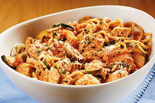 Cremoso espagueti con pollo Image 1