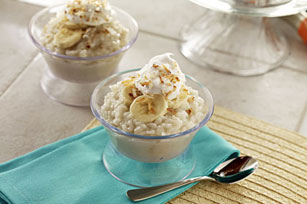 Creamy Coconut-Banana Rice Pudding Image 1