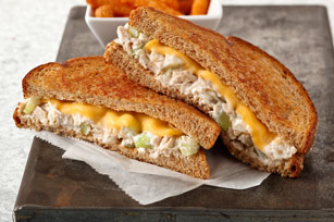 Creamy Homestyle Tuna Melts