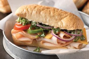 Creamy Italian Sub Sandwich Image 1