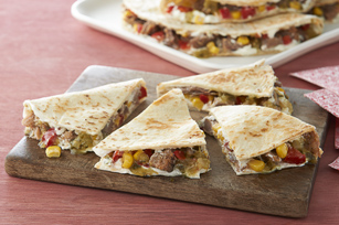 Creamy Jalapeno & Pulled Pork Quesadilla