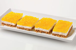 Layered Pineapple-Marshmallow Squares Image 1