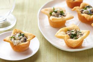 Creamy Mushroom Tartlets