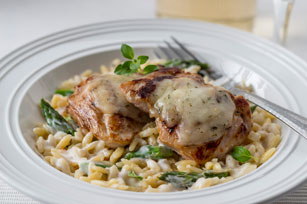 Creamy Orzo & Chicken