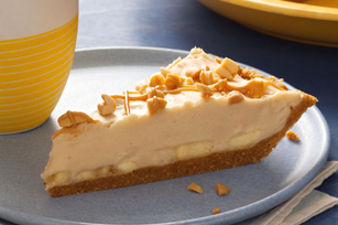 Creamy PB & Banana Pie