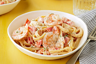 Creamy Shrimp Diavolo