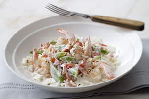Creamy Shrimp & Rice