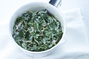 Creamy Spinach Image 1