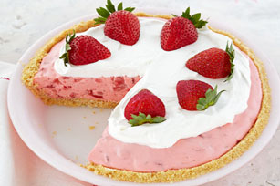 Creamy Strawberry Pie