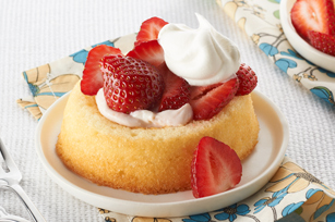 Creamy Strawberry Shortcakes