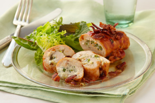 Creamy Stuffed Chicken Roll-Ups