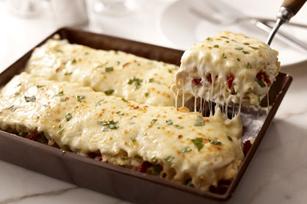 Creamy White Chicken & Artichoke Lasagna Image 5